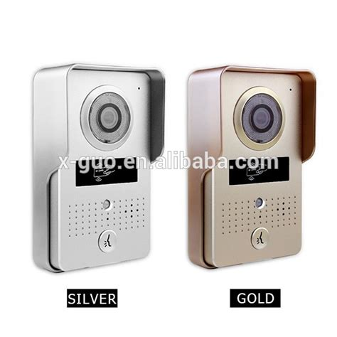 Wireless Gsm Doorbell For The Truly Lazy by Multi Family Doorbell Wireless Smart Product Waterproof
