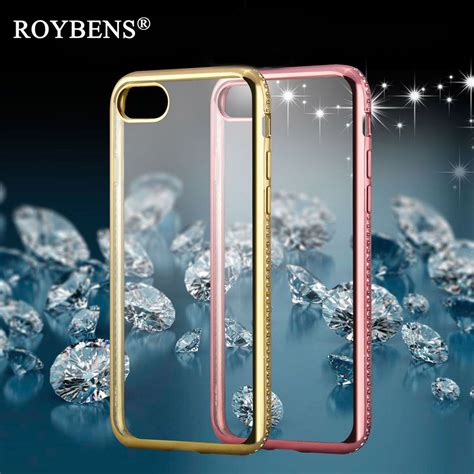 Iphone 6 Plus 6 Luxury Plating Flower Diamonds Soft Limited aliexpress buy luxury 3d rug bumpers