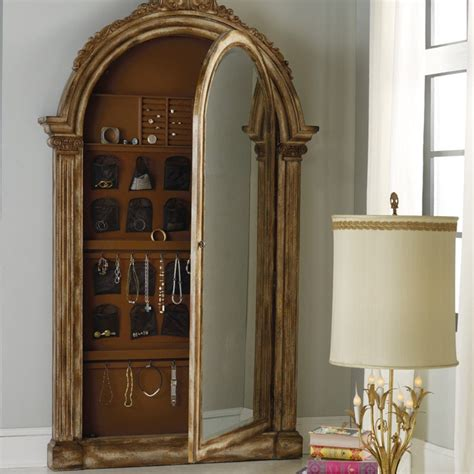 floor jewelry armoire with mirror armoire extrarordinary floor mirror jewelry armoire ideas hooker floor mirror jewelry
