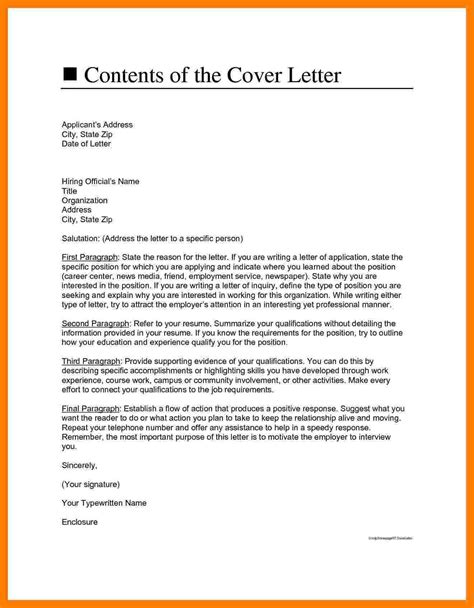 Does Cover Letter An Address 4 How To Address Cover Letter Protect Letters