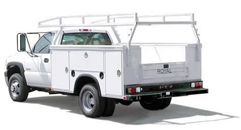 royal utility bed royal truck bodies chapman commercial fleet