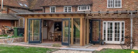 Farmhouse Plans With Wrap Around Porches oak framed garden rooms and oak framed extensions
