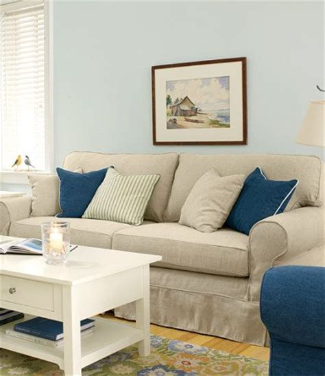 Ll Bean Sleeper Sofa by Pine Point Slipcovered Sofa Pine Beans And Linens
