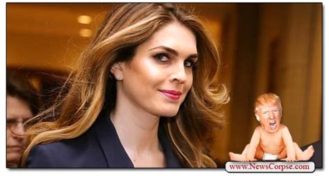 hope hicks on fox who will trump choose to replace hope hicks hint is he