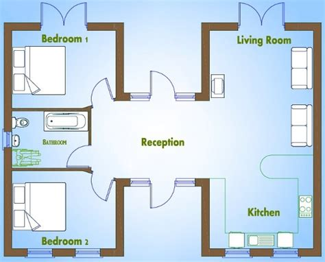 2 bedroom house floor plans free 2 bed house plans buy house plans online the uk s online