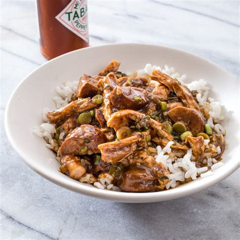 cooker chicken and sausage gumbo chicken and sausage gumbo america s test kitchen