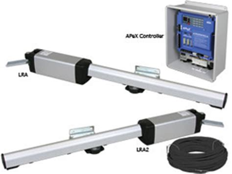 linear swing gate operator osco lra gate opener linear residential actuator swing