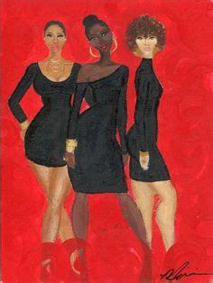 Sis Zendaya Syari black american quot acoustic quot 24x30 in original creative black