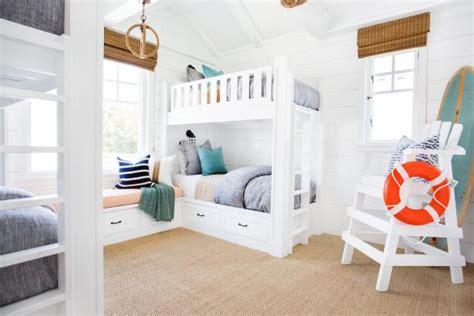 Coastal Bunk Beds Coastal Bedroom With Bunk Beds Lifeguard Chair 2015 Fresh Faces Of Design Awards Hgtv