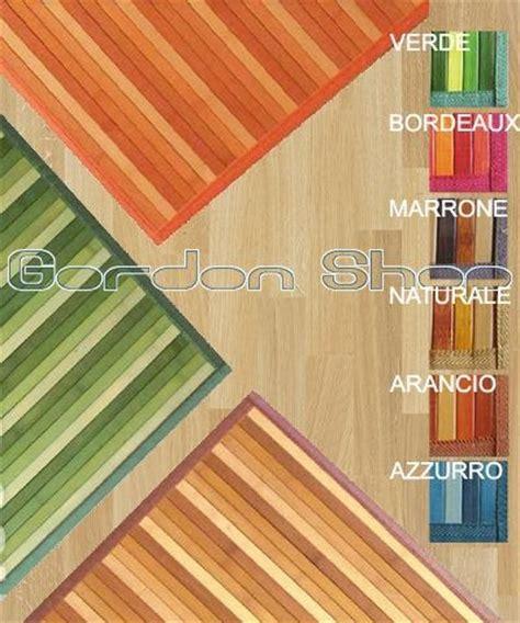 tappeto bambu su misura tappeto in bamboo degrade 55x140