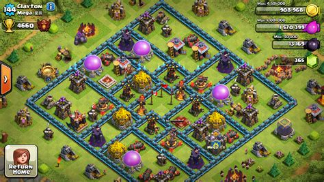 Clash of clans global leader board 5 best players update