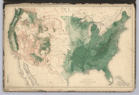 map us forests history of american forests tree maps made for 1884 census