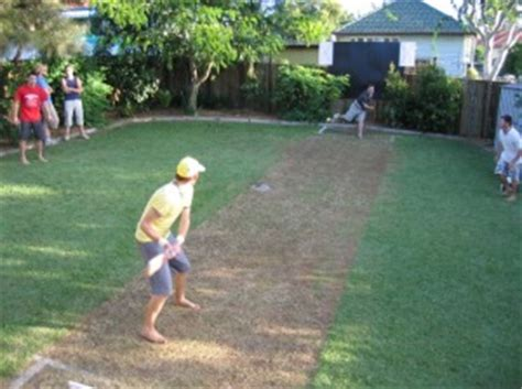 backyard cricket pitch dads online how to make your backyard into the ultimate