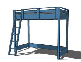 Do It Yourself Bunk Bed Plans Pdf Loft Bed Do It Yourself Plans Plans Free