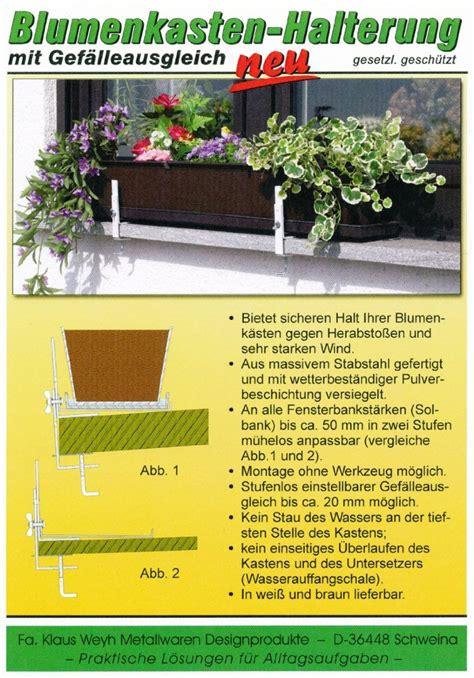 Fenster Ohne Fensterbank by Blumenkastenhalterung F 252 R Fensterbank Ohne Bohren