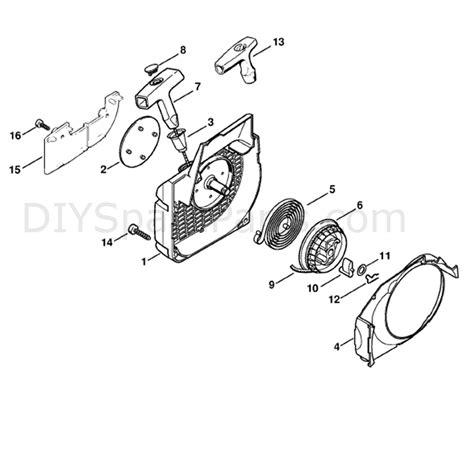 stihl ms 210 parts diagram stihl ms 210 chainbsaw ms210c bez parts diagram fan