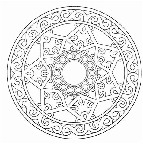 mandala coloring in book the mandala coloring book