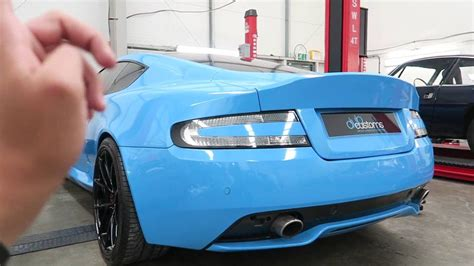 aston martin db9 custom custom aston martin db9 by dub customs youtube
