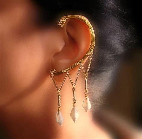 how to make ear wrap jewelry siren ear wrap by pikabee on deviantart
