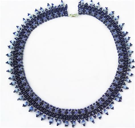 Necklace Pattern free beading tutoriall necklace beadsmagic 1
