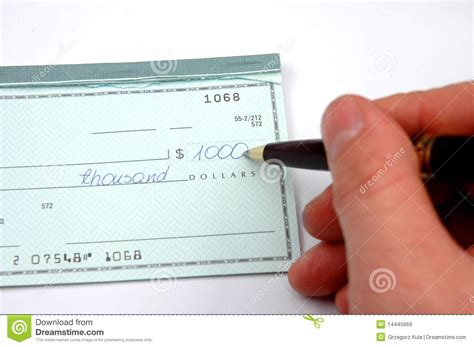 Acheck Background Check Writing A Check Royalty Free Stock Images Image 14445669