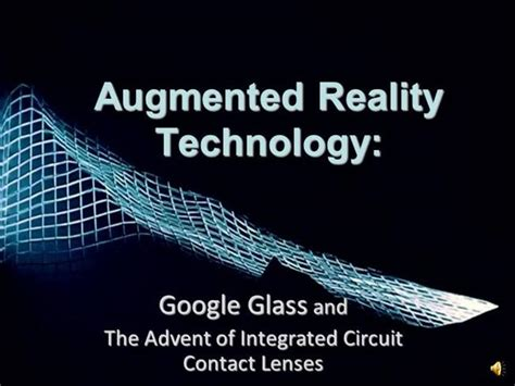 Augmented Reality Technology Authorstream Augmented Reality Ppt Template