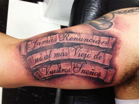 tattoo 3d brazo tatuaje brazo letras 3d por wanted tattoo