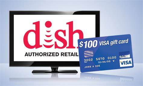 Dish Network Gift Card Offers - dish network subscription with monthly savings and free visa gift card deal of the day