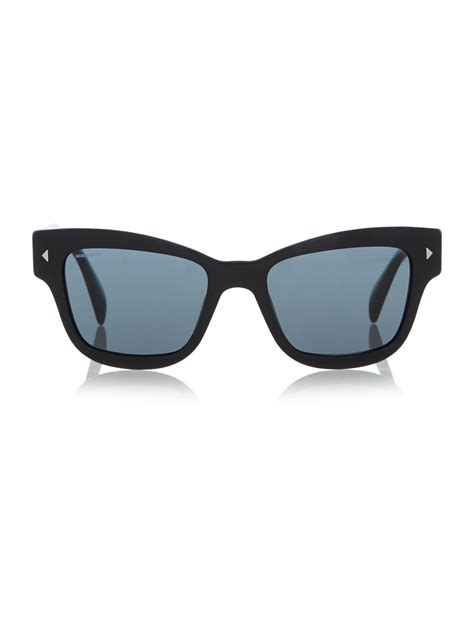 Butterfly Sunglasses prada pr 29rs butterfly sunglasses in black for lyst