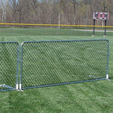 portable fence chain link porta fence sports advantage
