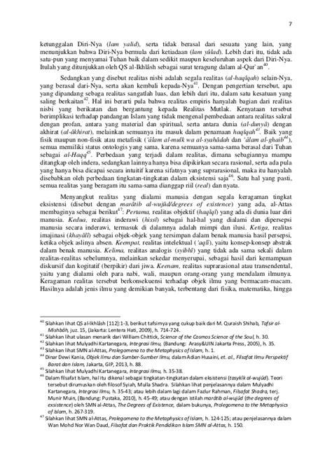 Islam Dan Nestapa Manusia Modern Seyyed Hossein Nasr pku isid anton ismunanto tauhid dan ilmu