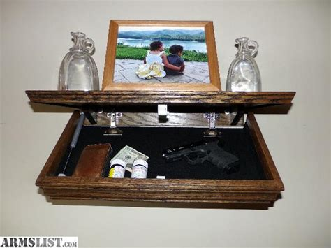 Shelf With Compartment by Armslist For Sale 23 Quot Oak Shelf With Compartment