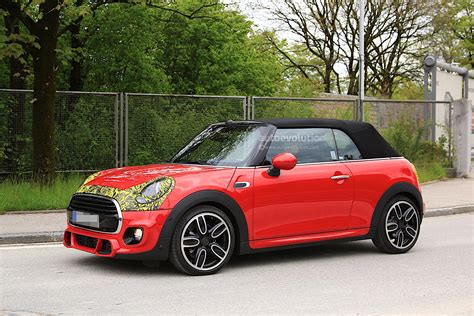 Mini For by 2018 Mini Cabrio And Cooper S Facelift Spied In Germany
