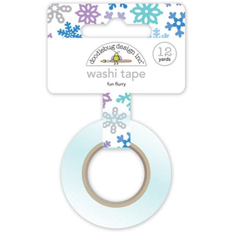 doodlebug all a flurry washi doodlebug design polar pals flurry washi