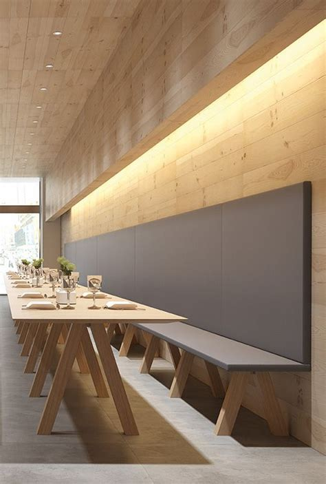 cafe bench menu trestle by john pawson back to basics viccarbe presents its new bench seating