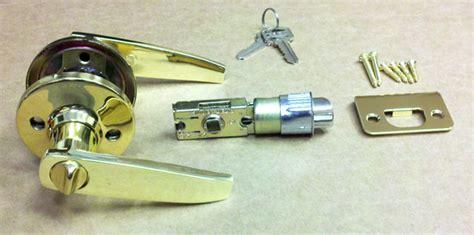 brass lever entrance door knob for mobile home