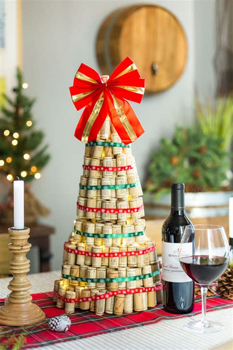 cork christmas tree diy wine cork tree kendall jackson
