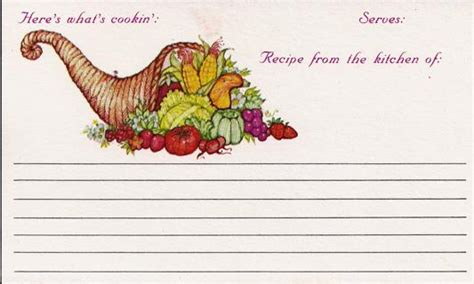blank recipe cards michaels free for the harvest 25 vintage 3x5 folded recipe cards