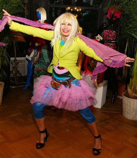 Style From Betsey Johnson And Couture by Betsey Johnson In 2009 Medal Of Honor For Lifetime