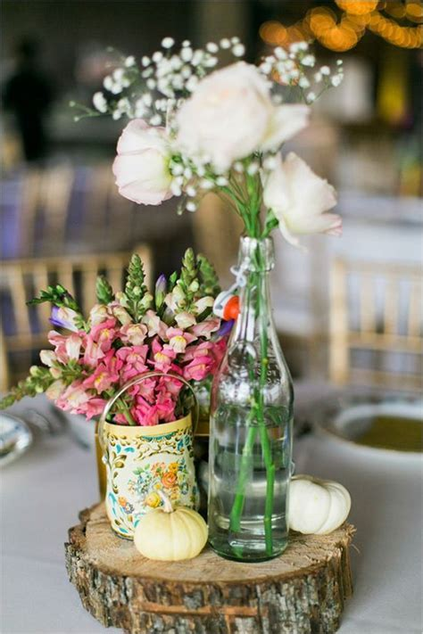 unique wedding table centerpiece #vintage #