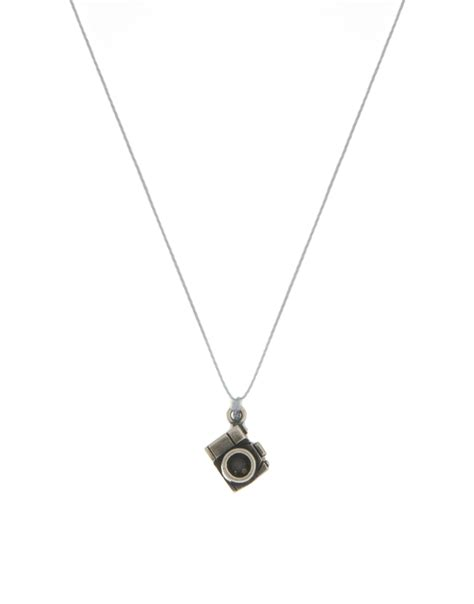 Dogeareds Make A Wish Necklaces by Dogeared Make A Wish Smile Necklace In Metallic Lyst