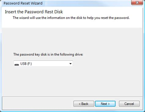 password reset disk xp usb how to create and use windows 7 password reset disk