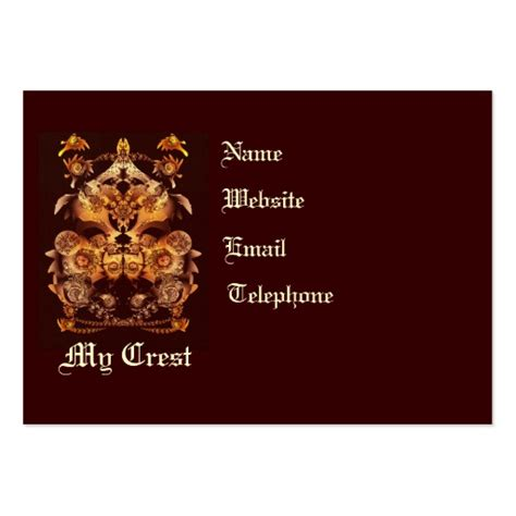 print your own business cards template make your own crest business card templates zazzle