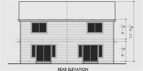 cheap duplex plans narrow lot duplex house plans 2 bedroom duplex house plan