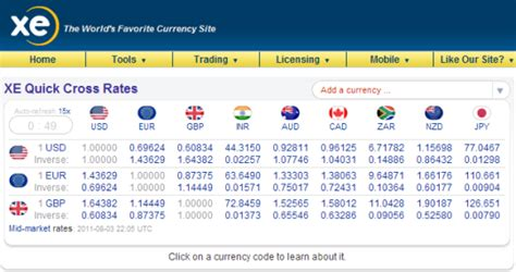 converter xe xe currency converter screenshots images cnet download com