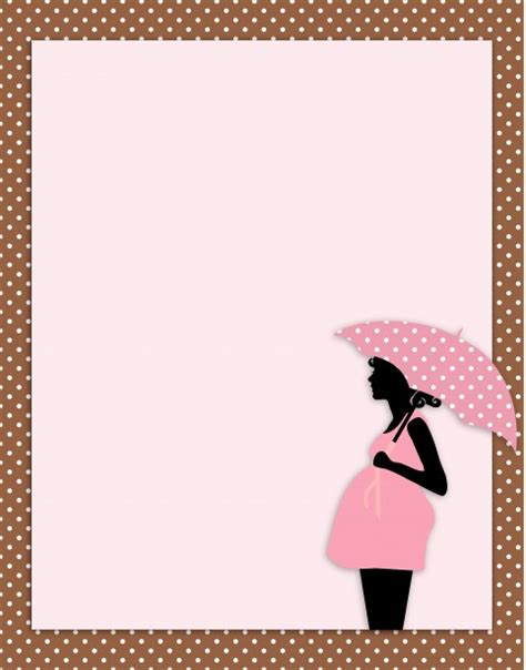 baby shower card template  stock photo public domain