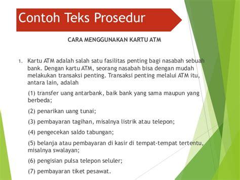 membuat teks prosedur kompleks tentang cara mengurus visa cara membuat teks prosedur dalam bahasa indonesia teks