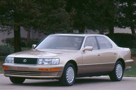 lexus ls400 1990 lexus ls 400 front three quarters photo 5
