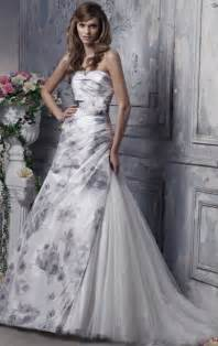multi colored floral white bridal gowns womenitems com