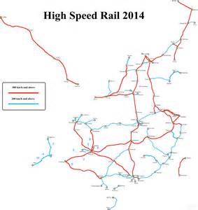 high speed rail map china high speed rail map